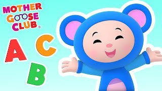 Bluesy ABC | Learn English Alphabet | Mother Goose Club Kid Songs and Baby Songs thumbnail