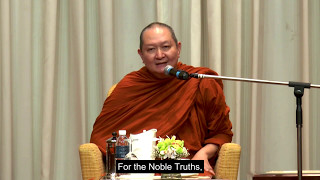 """Freedom From Suffering"" Venerable Pramote, Dhamma talk"