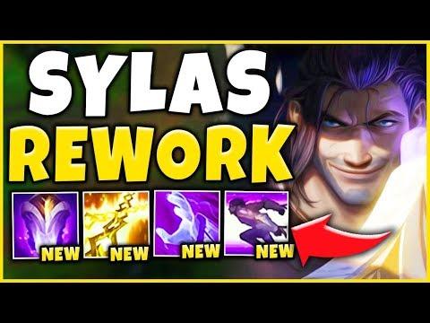 *NEW REWORK* SYLAS IS NO LONGER A MAGE (RIOT'S WORST FAILURE) - League of Legends