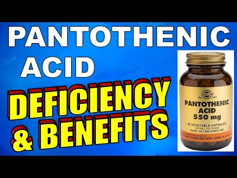 Pantothenic Acid - Benefits, Side Effects, Acne & Deficiency