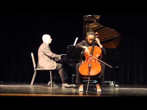Saint-Saëns Cello Concerto: Rosary High School Talent Show 2016