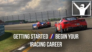 Getting Started // 6. Begin Your iRacing Career