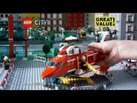Lego City Fire Helicopter (7206) - Toys R Us
