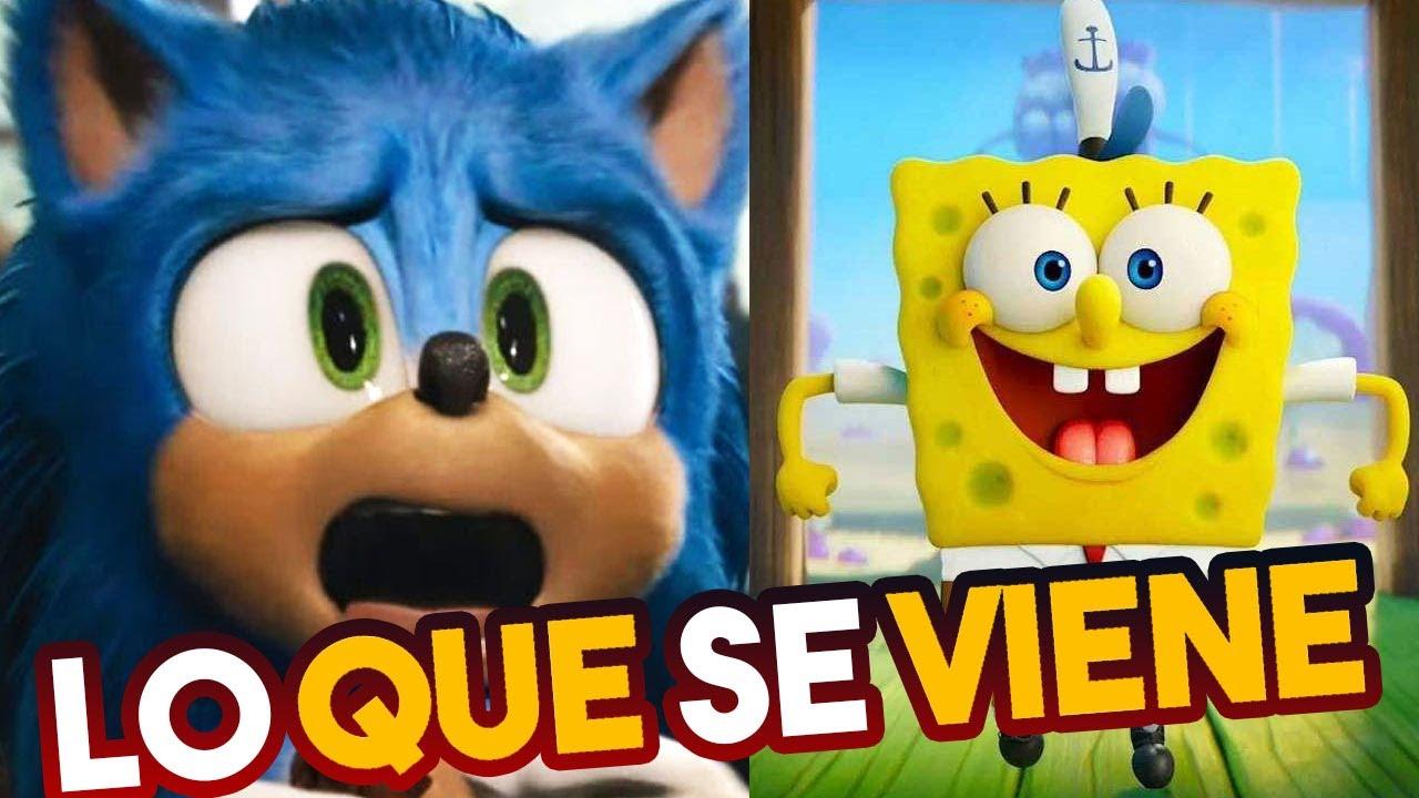 Lo que se viene: Bob Esponja Al Rescate - Sonic: La Película - Fantasy Island