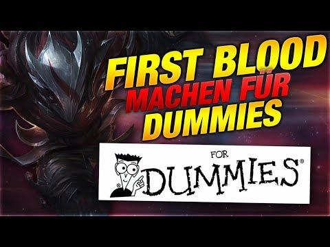 FIRST BLOOD FÜR DUMMIES! Tutorial [League of Legends] thumbnail