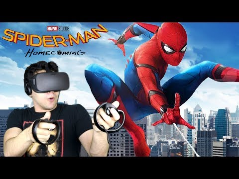 I'M FREAKIN' SPIDER-MAN!!!! - Spider-Man: Homecoming (Virtual Reality Experience)