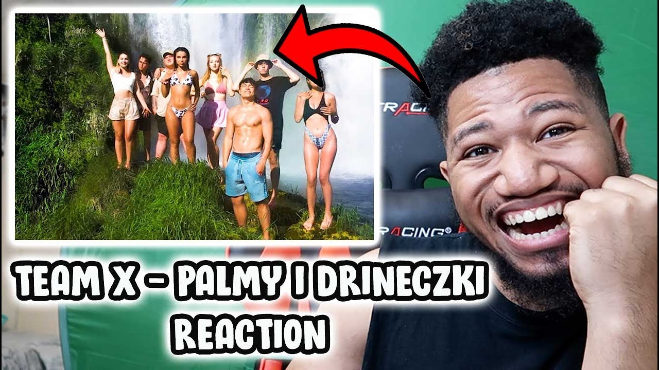 TEAM X - PALMY I DRINECZKI (Official Music Video) AMERICAN 🇺🇸 REACTION