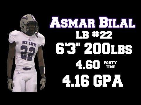 Asmar Bilal's Junior Highlights, Ben Davis High School