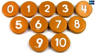 Learn To Count 0-10 |Learn Numbers 0 to 10 with Biscuit|Numbers 0 to 10 with Cookie thumbnail