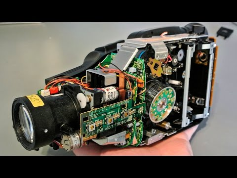 27-1 Zerlegung: Telefunken Camcorder (1990er): Elektronik