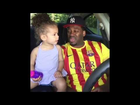 2 Year Old Argues with her Pops!