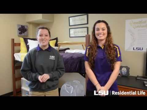 What To Bring On LSU Move-In Day
