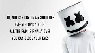 You Can Cry - Marshmello x Juicy J (Lyrics)