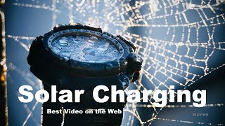 CASIO G-SHOCK Solar Charging - WatchUP69 tests which is the best light to charge your Solar watches