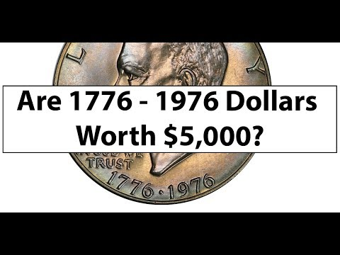 1776 1976 Dollar Worth $5,000? How Much Are 1976 Ike Dollars Worth?