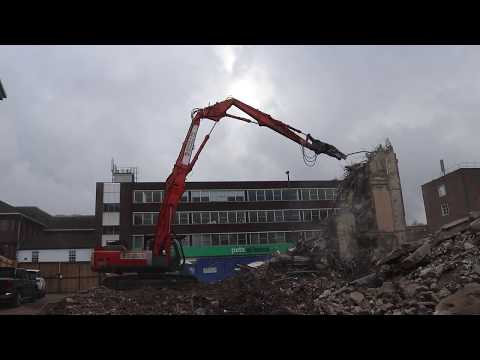 Demolition TV - AG Edwards - Epsom, Surrey
