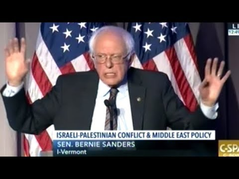 "Sanders ""A Future In Which Israel Controls Entire Territory Between Mediterranean And Jordan River!"""