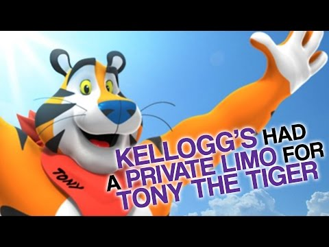 Kellogg's Had A Private Limo For Tony The Tiger (Why Furries Love Tony)