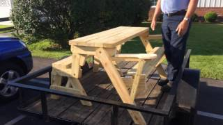 Convertible Folding Picnic Table/bench