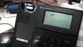 Reset LG Nortel IP Phone