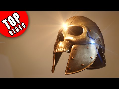 How to Make Armor with Ordinary Tools - Skull Helmet