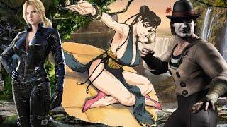 Top Ten Alternate Costumes in Fighting Games