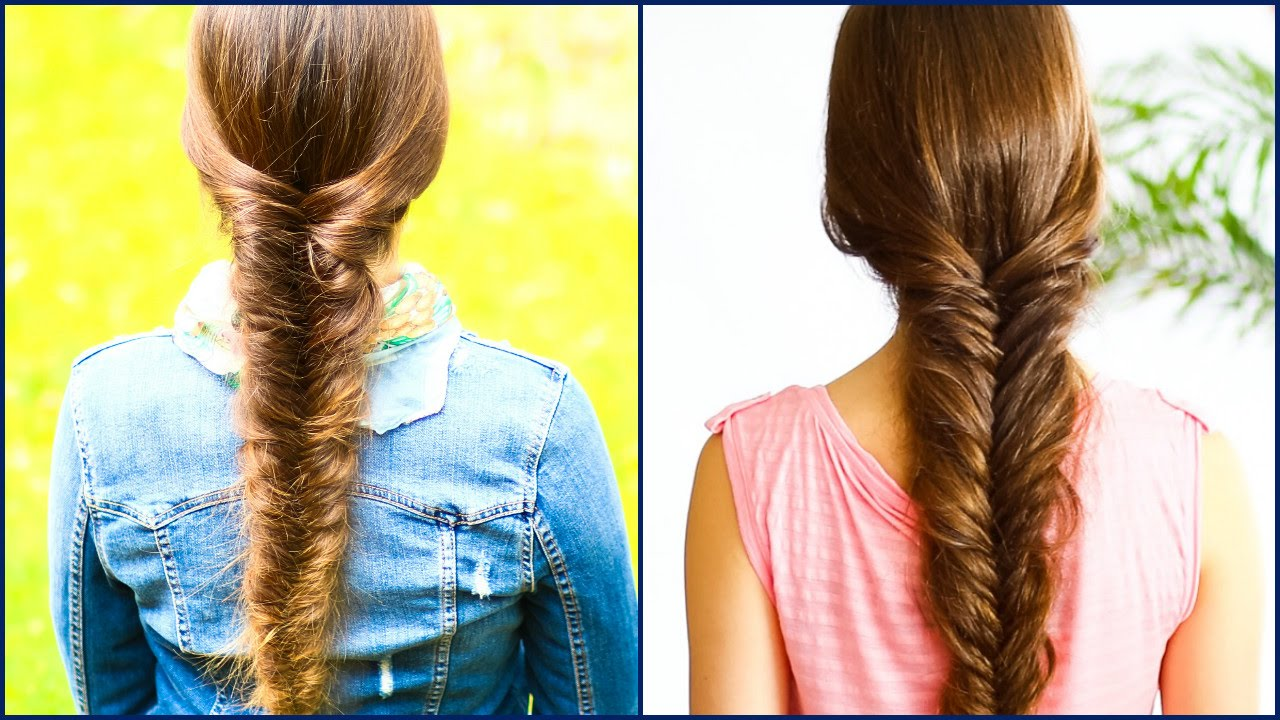 How To Fishtail Braid For Beginnersmessy Version Diy Step By Step