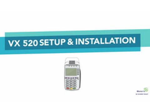 Moneris VX 520 Setup & Installation [Video]