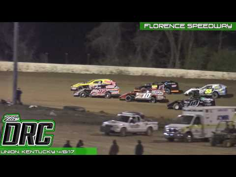 Florence Speedway | 4.8.17 | UMP Modifieds | Feature