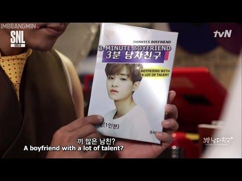 [ENG SUB] 170812 Wanna One on SNL Korea 9 - Lee Daehwi 3-Minute Boyfriend CUT