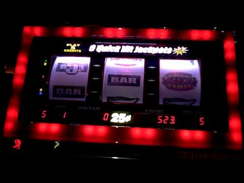 Quick Hits 25 cents Bonus Slot Win at Sands Casino