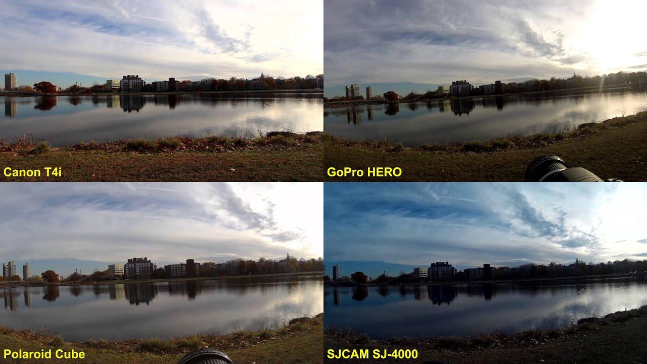 Gopro Hero 5 Vs Hero 4 >> GoPro HERO vs Polaroid Cube vs SJ-4000 - Test 1 of 5 - YouTube