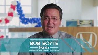 Bob Boyte Honda | Honda Dealer Serving Ridgeland, Jackson, Florence, Vicksburg, Canton, Pearl, MS