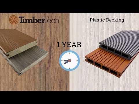 Composite Decking vs Plastic Decking