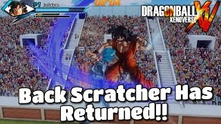 God Yamcha The Back Scratcher Has Returned!!