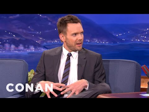 Joel McHale & Andy Richter Get Hot In Leather Pants - CONAN on TBS