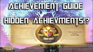 ACHIEVEMENT GUIDE - Crusaders of Light