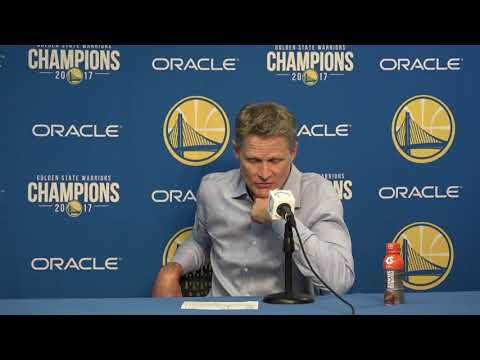 Steve Kerr Postgame Interview / Warriors vs Lakers / Dec 22