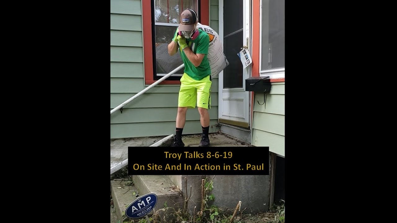 Troy Talks - On-site in St. Paul   Call us at 612-430-8822