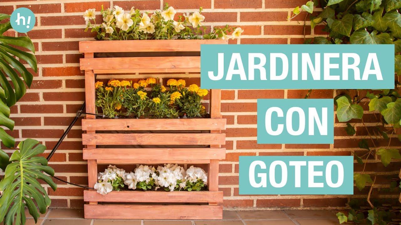 Cómo Hacer Una Jardinera Vertical De Madera Handfie Diy Youtube