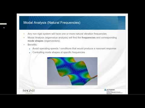 Vibration Analysis with Autodesk Inventor Nastran