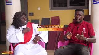 KOMFO KOLEGE (Guy Jesus)  Fires 🔥 On Kwaku Manu Aggressive Interview