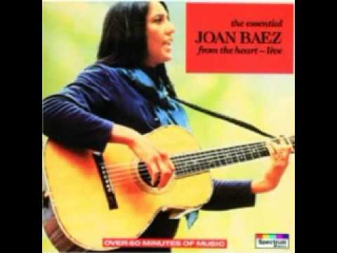 JOAN BAEZ Love Is Just A Four Letter Word Live   YouTube