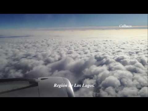 Volando desde Punta Arenas a Santiago de Chile