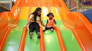 Indoor Playground fun for Kids Family Time Spending at Play Area