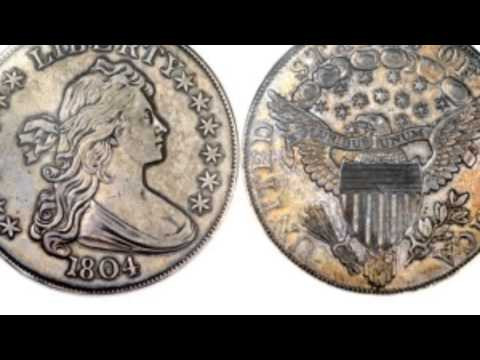 An 1804 silver dollar sold for $3.88 million at auction!