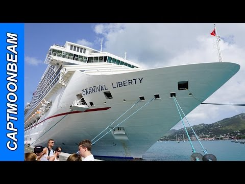 Carnival Liberty Tour and Dining