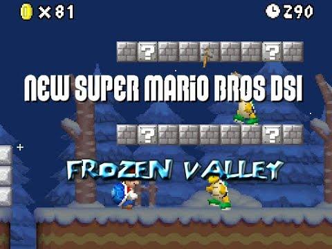New Super Mario Bros DSi - Frozen Valley