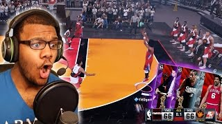 nba 2k16 myteam diamond dr j iverson curry and more debut most intense ending