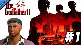 The Godfather 2 Gameplay Walkthrough Part 1-PROLOGUE - An Inconvenient Revolution / With COMMENTARY